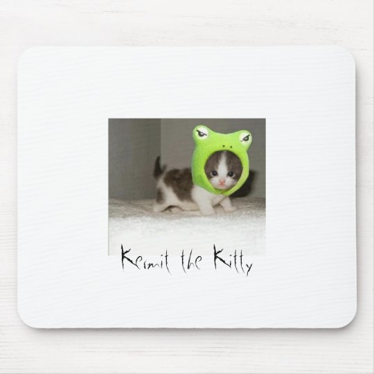 Kermit the Kitty Mouse Mat