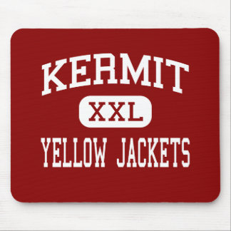 Kermit - Yellow Jackets - High - Kermit Texas Mouse Pad