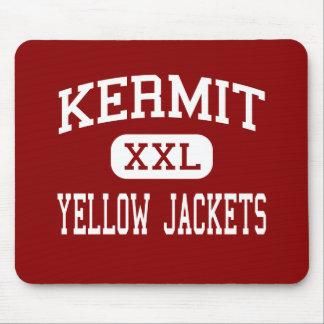 Kermit - Yellow Jackets - Junior - Kermit Texas Mouse Pad