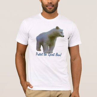 KERMODE BEAR Animal Art Wildlife Supporter Tee