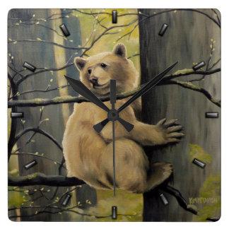 Kermode Bear Clock Bear Art Wall Clocks Bear Decor