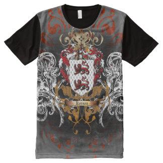 Kernan Coat of Arms All-Over Print T-Shirt