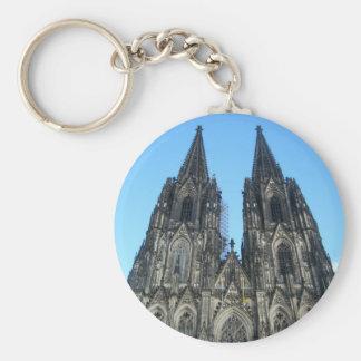Kernel large saintly hall basic round button key ring