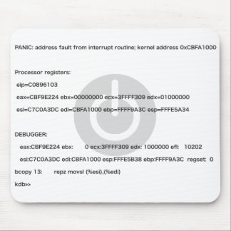 Kernel_Panic Mouse Pad
