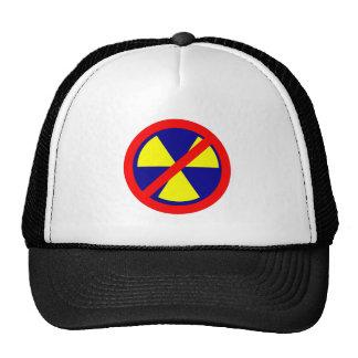 Kernkraft verboten no nuclear power baseballcaps