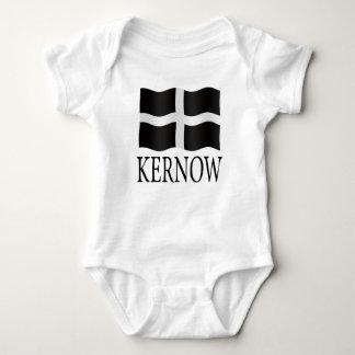 Kernow (Cornwall) flag Baby Bodysuit