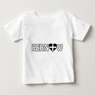 Kernow Heart Inverted Logo T-shirt