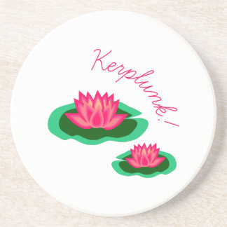 Kerplunk Lily Drink Coaster