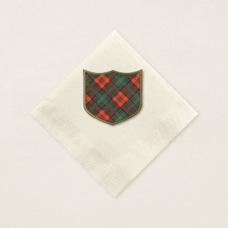 Kerr clan Plaid Scottish tartan Disposable Napkin