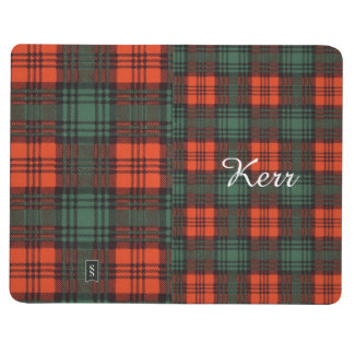 Kerr clan Plaid Scottish tartan Journals