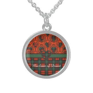 Kerr clan Plaid Scottish tartan Sterling Silver Necklace