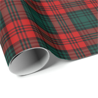 Kerr Clan Tartan Wrapping Paper
