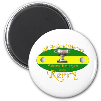 Kerry All Ireland Champions 6 Cm Round Magnet