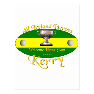Kerry All Ireland Champions Postcard