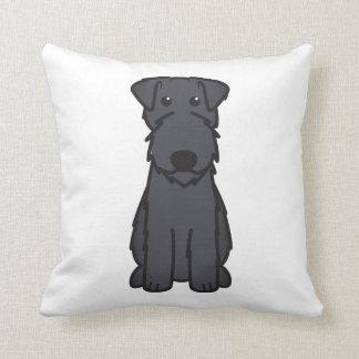 Kerry Blue Terrier Dog Cartoon Cushion