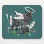 Kerry Blue terrier Perfect Angel Mousepad