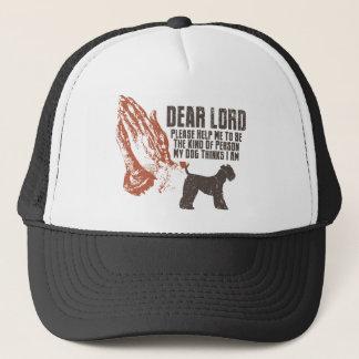 Kerry Blue Terrier Trucker Hat