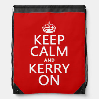 Kerry On Drawstring Backpacks