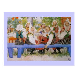 Kersti s Birthday 1909 Postcards