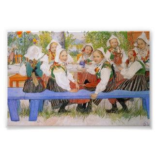 Kersti's Birthday 1909 Photo Print