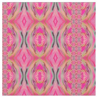 Kesahar Pink Ikat Fabric