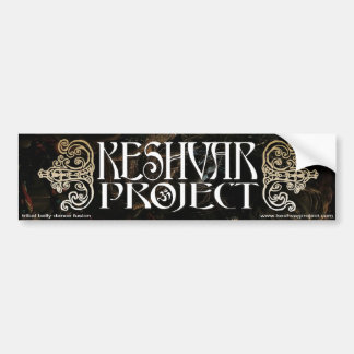 Keshvar Project Bumpersticker Bumper Sticker