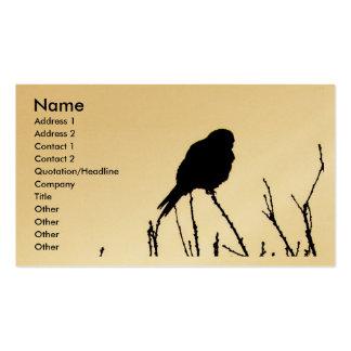 Kestrel Business Card