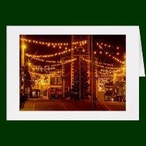 Keswick Christmas Lights Greeting Card