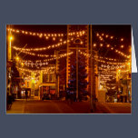 Keswick Christmas lights Xmas Card