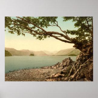 Keswick I Derwentwater Lake District England Poster