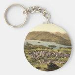 Keswick II, Derwentwater, Lake District, England Basic Round Button Key Ring