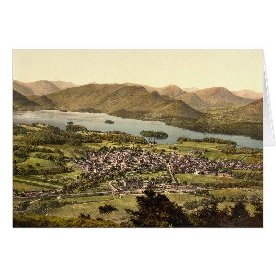 Keswick II, Derwentwater, Lake District, England Card