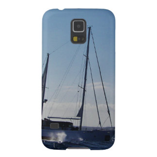 Ketch motoring into headwind. galaxy s5 case