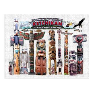 Ketchikan, Alaska Postcard