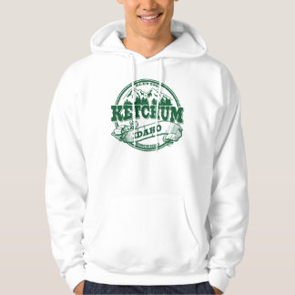 Ketchum Old Circle Green Hoodie