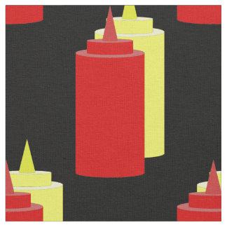 Ketchup and Mustard Fabric