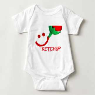 ketchup baby bodysuit
