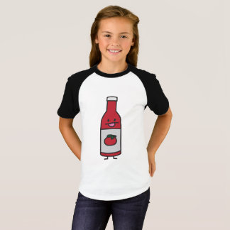 Ketchup Bottle Tomato Sauce Table condiment fancy T-Shirt