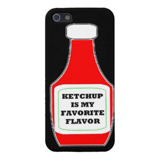 Ketchup is my favorite flavor funny humor keep cal iPhone 5 cover