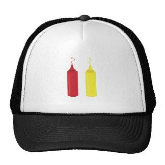 Ketchup Mustard Mesh Hats