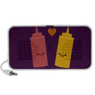 Ketchup & Mustard Friends iPhone Speakers