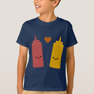 Ketchup & Mustard Friends T-Shirt