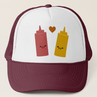 Ketchup & Mustard Friends Trucker Hat