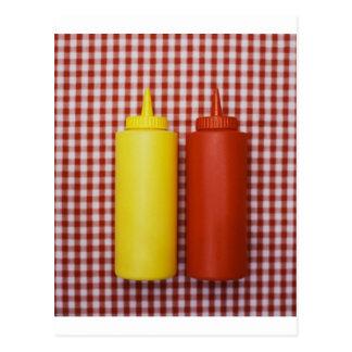 Ketchup & Mustard Postcard