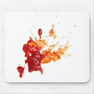 Ketchup Stain Mouse Pad