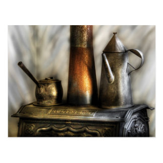 Kettle - The Kettle and Stove Postcard