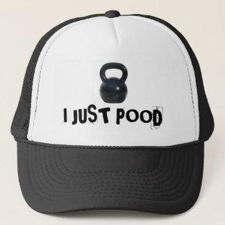 kettlebell, I JUST POOD Trucker Hat