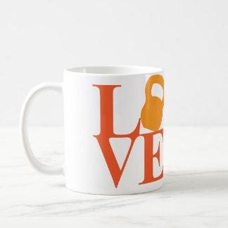 Kettlebell Love Classic White Coffee Mug
