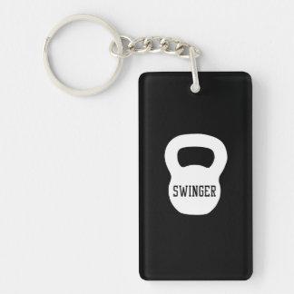 Kettlebell Swinger Key Ring