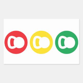Kettlebell Traffic Light - Ready Set Go Sticker